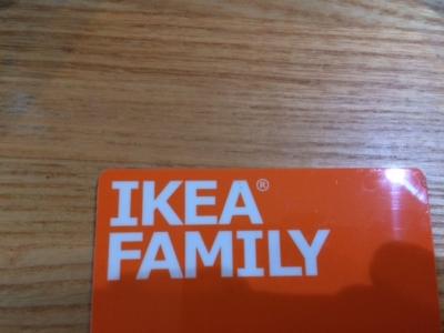 IKEA FAMILY カード