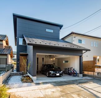 【愛知県扶桑町】NOGARAGE,NOHOUSE!「ガレージがないなら家を建てる意味がない!」そんな車好き30代ご夫婦が建てるガレージハウス