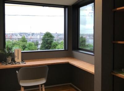 名古屋で注文住宅で建てる2階リビングの実例写真