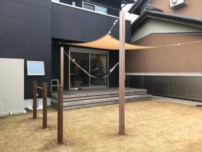 愛知県扶桑町注文住宅ガレージハウス実例写真
